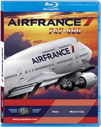 Air France 747-400 Cockpit Blu-ray disc