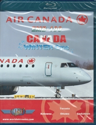 Air Canada EMB-190 Canada Winter Ops Blu-ray disc