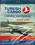 Turkish Cargo A330-200F Blu-ray disc