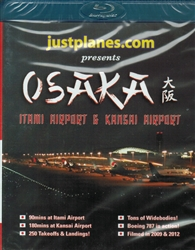 Osaka Japan Itami and Kansai Airports Blu-ray disc
