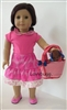 Pink Puppy Love Full Set with Dog and Shoes 18 inch American Girl or Baby Doll Clothes