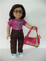 Lovvbugg Brownie Ready Anything Full Set with Accessories 18 inch American Girl or Baby Doll Clothes