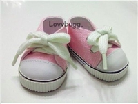 SALE Lovvbugg Pink Sneakers 18 inch Girl or Baby Doll Shoes