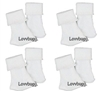 Lovvbugg 4 Prs White Socks 18 inch Girl or Baby Doll Clothes Accessory