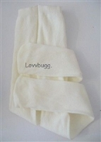 SALE Lovvbugg Ivory Tights 18 inch Girl or Baby Doll Clothes Accessory