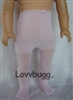 "Lovvbugg Pink Tights for 18"" American Girl n Baby Doll Clothes Accessory"