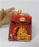 Mini Panettone Cake Girl Doll Food Accessory