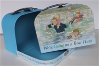 Pooh Design Suitcase Girl 14 to 18 inch Doll Accessores Storage