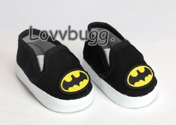 Shoes Batman Casual For 18 in American Girl Boy Doll Accessories Clothes