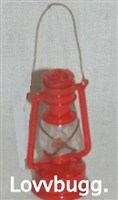 Lantern Red Miniature 18 inch American Girl or Boy Doll Accessory