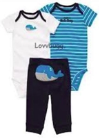 Whales Sleeper and Day Set 15 to 18 inch Baby Doll Clothes
