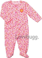 Neon Flowers Sleeper/Day 15 to 18 inch Baby Doll Clothes