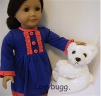 Bear Friend Pet  18 inch American Girl or Baby Doll Accessory