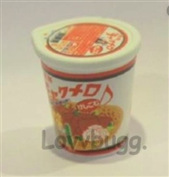 Cup of Noodles 12 to 18 inch American Girl and Barbie and Wellie Wishers Doll Food Accessory