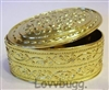 Lovvbugg Gold Jewelry Box Oval  18 inch American Girl Doll Accessory