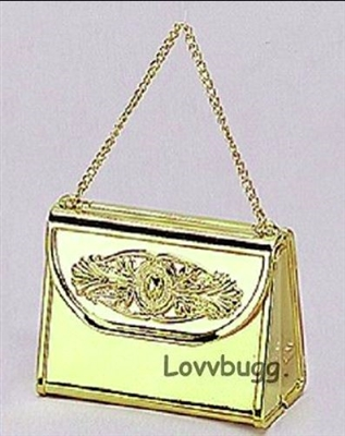 Gold Purse 18 inch American Girl Doll Accessory