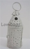 White Lantern Classic Pierced Tin Mini 18 inch American Girl Doll Accessory