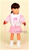 Pink Jump Rope Full Set 18 inch Girl Doll Clothes
