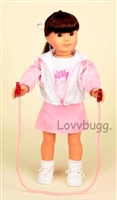 Pink Jump Rope Full Set 18 inch American Girl Doll Clothes