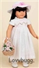 "Eyelet Dress FULL SET Doll Clothes for 18"" American Girl Doll Clothes"
