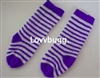 Blue Stripe Soccer Socks 15 to 18 inch American Girl Baby Doll Clothes Accessory