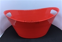 Red Laundry Basket Wash Tub 15 to 18 inch American Girl Baby Doll House Accessory
