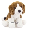Beagle Puppy Dog 15 to 18 inch American Girl Doll Pet Accessory Molly Ruthie