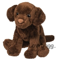 Chocolate Lab Labrador Retriever Dog 15 to 18 inch American Girl Doll Pet Accessory