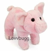 Pink Pig 15 to 18 inch Girl Doll Pet Accessory