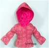 SALE Pink Bubble Jacket 18 inch American Girl Doll Clothes