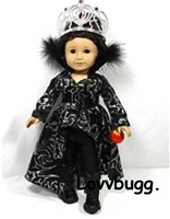 Snow White Wicked Witch Costume 18 inch American Girl Doll Clothes