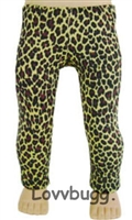 Leopard Leggings Pants 18 inch American Girl Doll Clothes