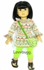 Harvest Glow Set 18 inch Girl or 15 inch Baby Doll Clothes