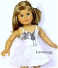 Prom Dress or Evening Gown 18 inch Girl Doll Clothes