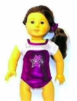 SALE Standing Ovation Gymnastics Leotard Set 18 inch American Girl or 15 inch Baby Doll Clothes