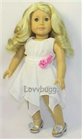 Blissful Breezes Dress 18 inch American Girl or 15 inch Baby Doll Clothes