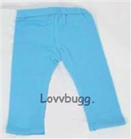 Quality Blue Leggings Pants 18 inch American Girl Doll Clothes