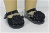 Black Rosey Toseys Mary Janes 18 inch Girl or 15 inch Baby Doll Shoes Clothes