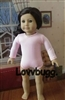 "Pink Ballet Jazz Leotard for 18"" American Girl Doll Clothes"