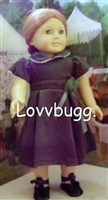 Evergreen Dress Clothes 18 inch American Girl or 15 inch Baby Doll Clothes Molly