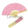 Mini Pink Fan 18 inch American Girl Doll Accessory