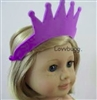Purple Crown 15 to 18 inch Doll Accessory