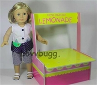 Lemonade Stand 18 inch American Girl or Wellie Wishers Doll Furniture Accessory