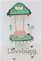 Adorable Chair Green 18 inch American Girl Doll Furniture