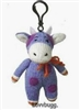 Cow Sock Monkey Mini Girl Doll Pet Accessory