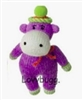 Hippo Sock Monkey Mini Girl Doll Accessory