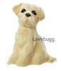 Golden Retriever Dog Mini 18 inch American Girl Doll Pet Accessory