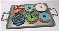 Holiday Baking Tray Cookies or Donuts 18 inch American Girl Doll Food Accessory