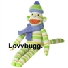 Babe 14 inch  Sock Monkey Classic Toy Doll Accessory