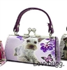 Terrier Dog Kiss-Lock Purse 18 inch American Girl Doll Clothes Doll Accessory